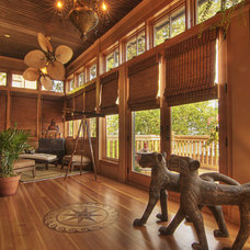 Eclectic Porch by Fusion Designed