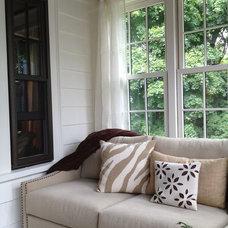 Eclectic Porch by studio m     design