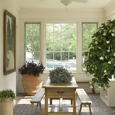 traditional porch by Dennison and Dampier Interior Design
