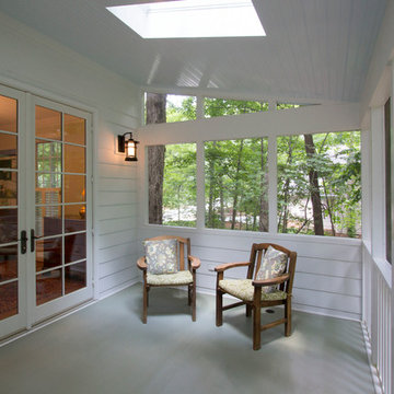 Sun-washed Screened Porch