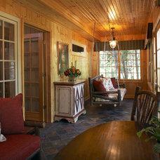 Traditional Porch by Karlene Hunter Baum, Allied ASID