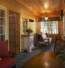 traditional porch by Karlene Hunter Baum, Allied ASID