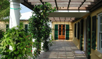 Sunrise House Entry Pergola