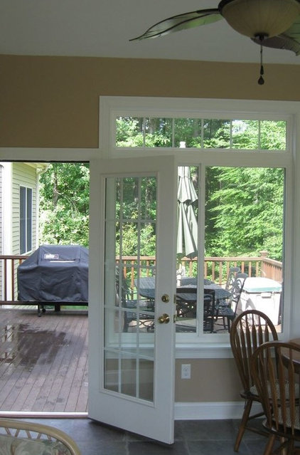 Traditional Porch by C.M. Chartier Contracting