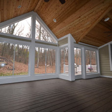 Traditional Porch by PHB Construction LLC