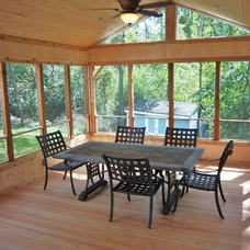 Traditional Porch by Dexter Builders