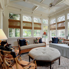 Eclectic Porch by Stephen Fuller Designs