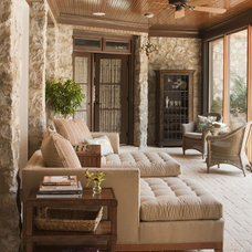 contemporary porch by Jenny Van Stone Interior Design