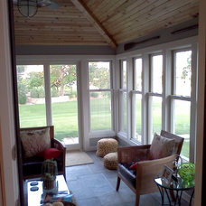 Contemporary Porch by M & J Construction