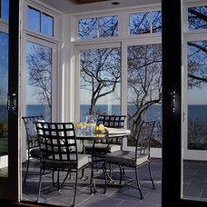 Contemporary Porch by Benvenuti and Stein
