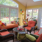Treehouse Eclectic Porch Nashville By Robinson