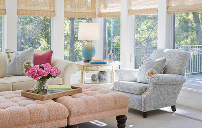 Room of the Day: Monet Colors Make a Sunroom Irresistible