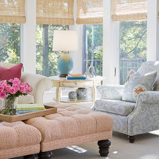 Traditional Porch by Lucy Interior Design