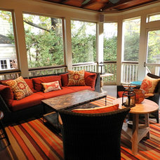 traditional porch by Lynn Madyson, ASID, IFDA, NKBA