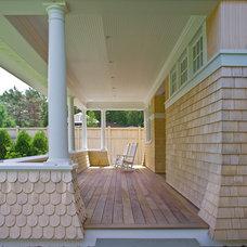 Traditional Porch by Birdseye Design