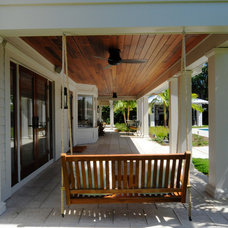Tropical Porch by Sunset Properties of Tampa Bay