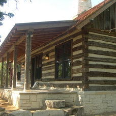 Traditional Porch by Paddle Creek Design