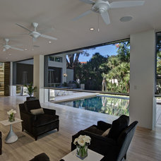 Contemporary Porch by ZIO Group, LLC
