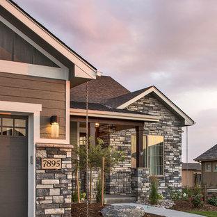 Arts and crafts porch idea in Denver