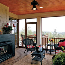 Traditional Porch by Donald A. Gardner Architects