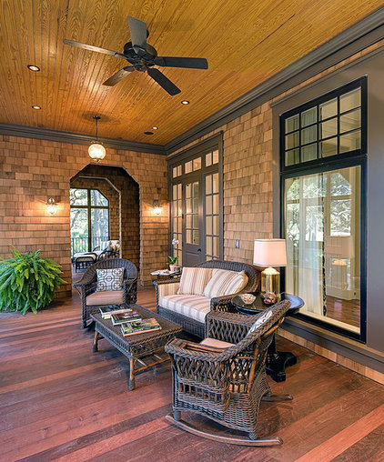 Traditional Porch by Orchid Interiors