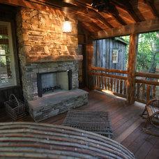 Traditional Porch by Yurko Design & Architecture