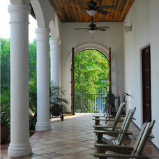 Mediterranean Porch by The Front Door / Dwayne Carruth