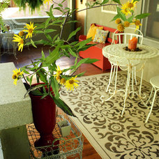 Eclectic Porch by Annalea Hart