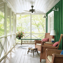 traditional porch The Happy Home Project