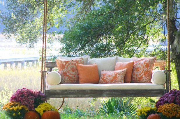 Farmhouse Porch by Vintage Porch Swings LLC