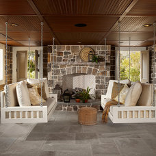 Beach Style Porch by The Original Charleston Bedswing co,llc