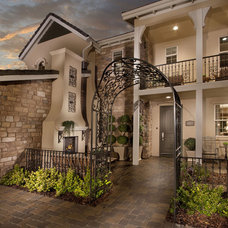 Mediterranean Porch by Celebrity Communities