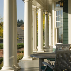 Craftsman Porch by Alan Mascord Design Associates Inc