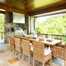 Contemporary Porch by Resort Custom Homes