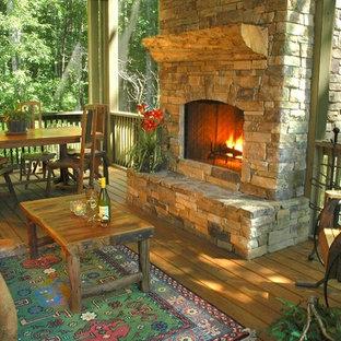 The Pond House Porch