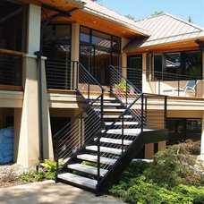 Contemporary Porch by Architectural Homes by Anders Inc