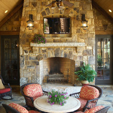 Traditional Porch by Cornerstone Design+Build Solution