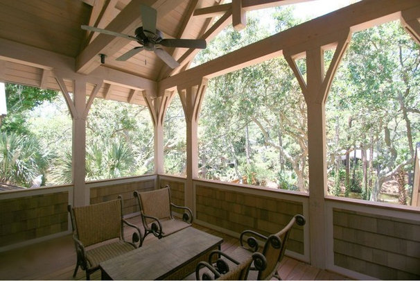 Traditional Porch by The Twelve Oaks Group