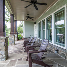 traditional porch by KDH Residential Designs