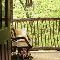 traditional porch by Allison Ramsey Architects