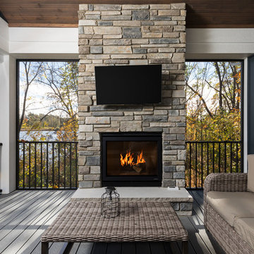 The Willowcrest - 2018 Fall Parade Home -  Screened in Porch