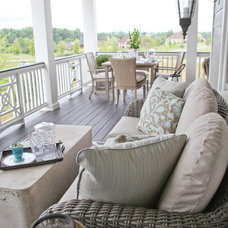 Eclectic Porch by Home Staging Specialists