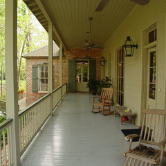 traditional porch by Al Jones Architect
