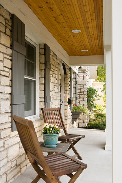 Traditional Porch by Sicora Design/Build