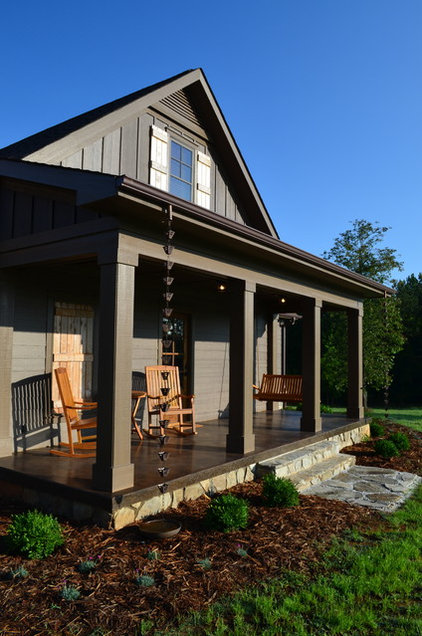 Eclectic Porch by Chapman Design Group, Inc.
