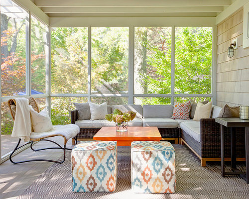 Small Indoor Porch | Houzz