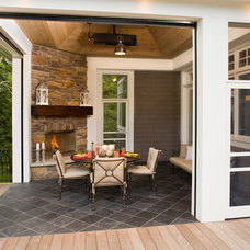 Traditional Porch by Southview Design