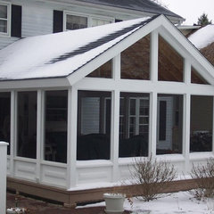 traditional porch by PM Renovations