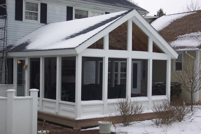 Traditional Porch by P&M Renovations
