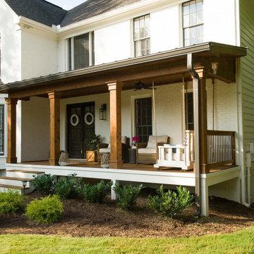 Timber Column Porch